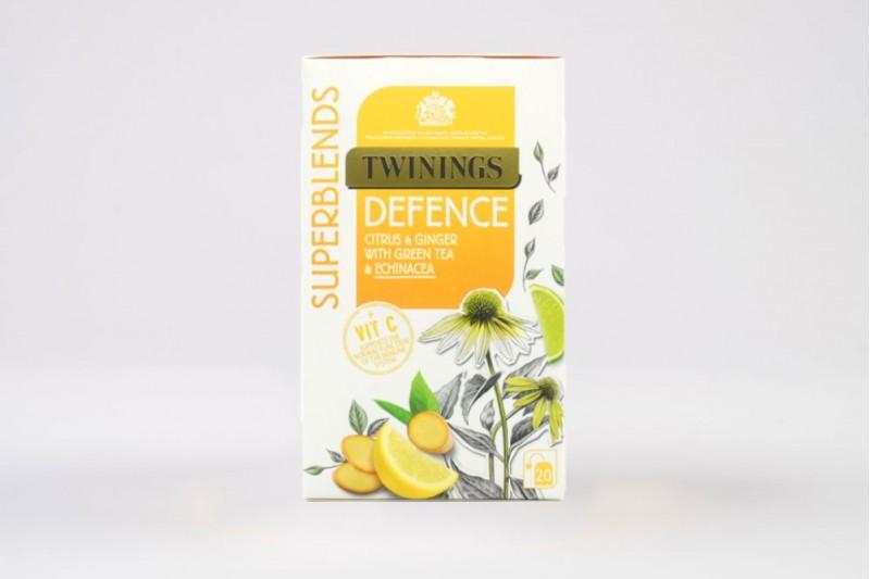 Twinings Superblends Defence Enveloped Tea Bags