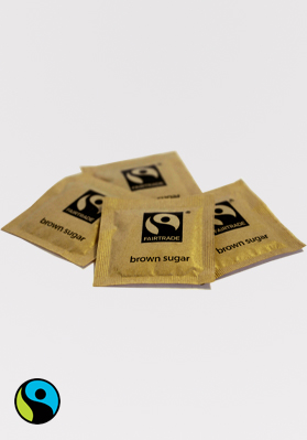 Fairtrade Brown Sugar Sachets 1x1000