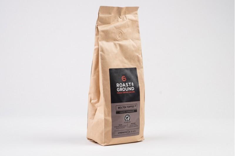 Molten Toffee Crema Superior Beans 1 x 500g