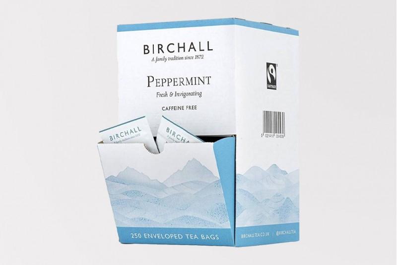 Birchall Fairtrade Peppermint Tea 250 Envelopes