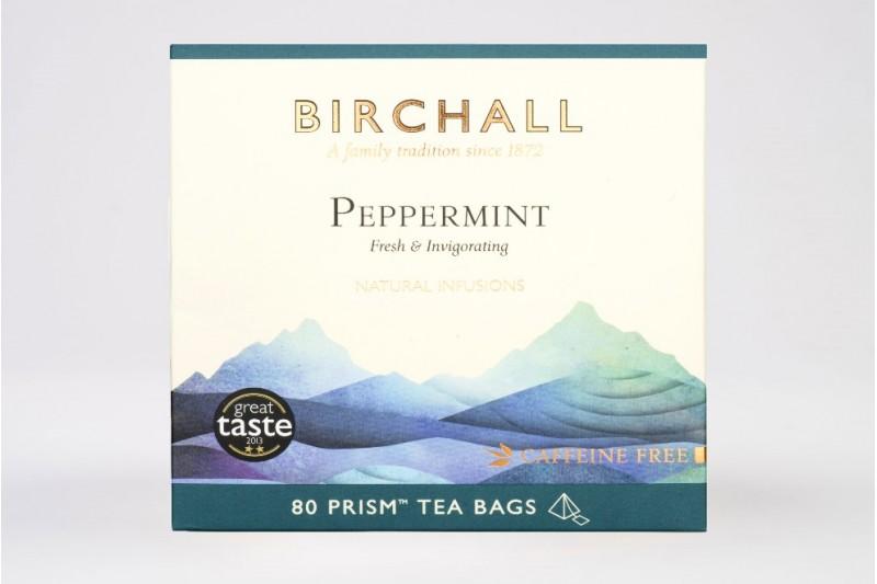 Birchall Peppermint - 80 Prism Tea Bags