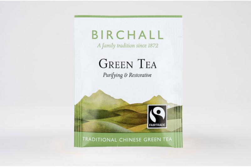 Birchall Fairtrade Green Tea 250 Envelopes