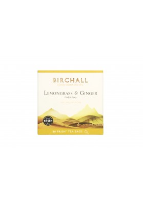 Birchall Lemongrass and Ginger - 80 Prism Tea Bags