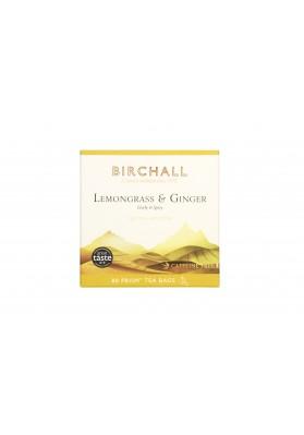 Birchall Lemongrass & Ginger - 80 Plastic-Free Prism Bags