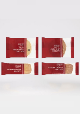Brontè Biscuit Mini Packs 5 Variety 100x2