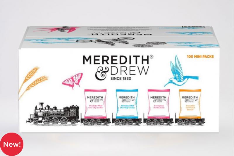 Meredith & Drew 100 Mini Packs 4 Varieties
