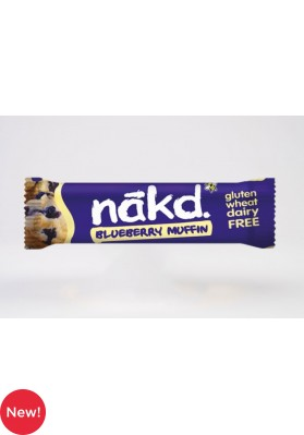 Nakd Blueberry Muffin Fruit & Nut Bar 18 x 35g