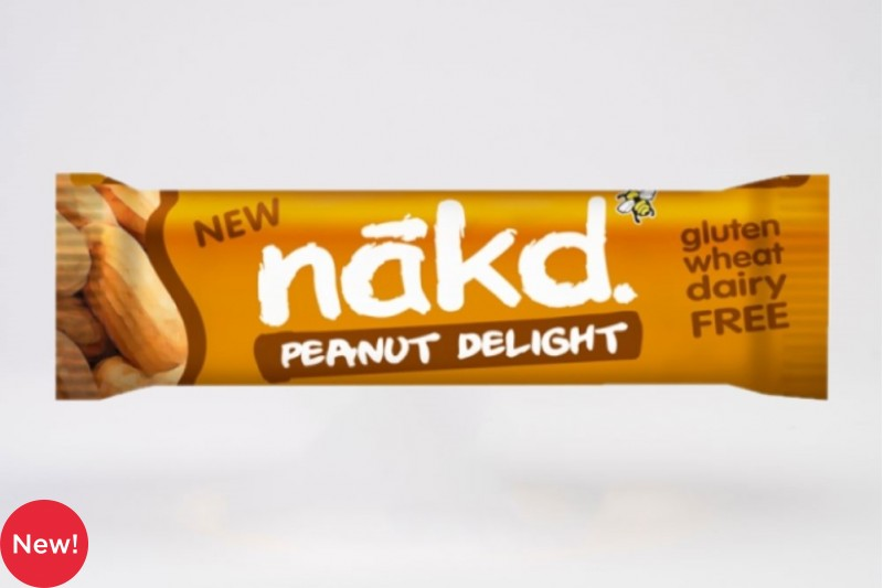 Nakd Peanut Delight Fruit & Peanut Bar 18 x 35g