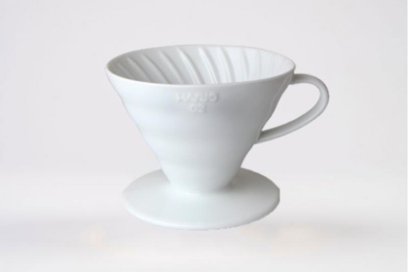 Hario Coffee Dripper Ceramic White V60 02