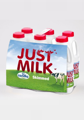 Just Milk Skimmed 6 x 1 litre