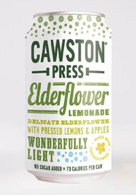 Cawston Press Elderflower Lemonade 24x330ml