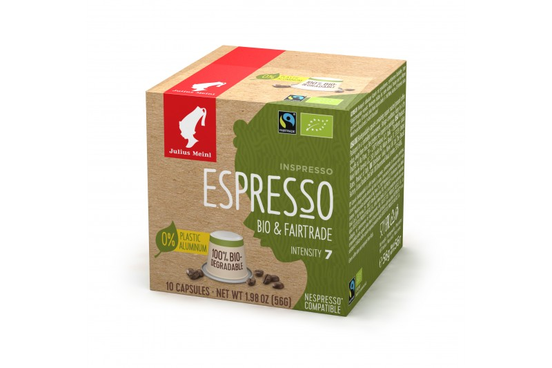 Julius Meinl Bio Fairtrade Espresso Capsules 1 x 10