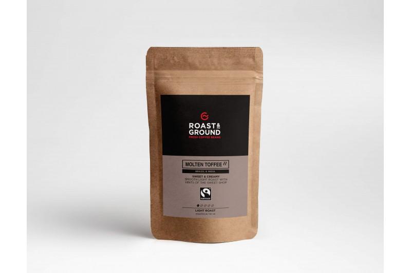 Molten Toffee Fairtrade Beans 12x450g