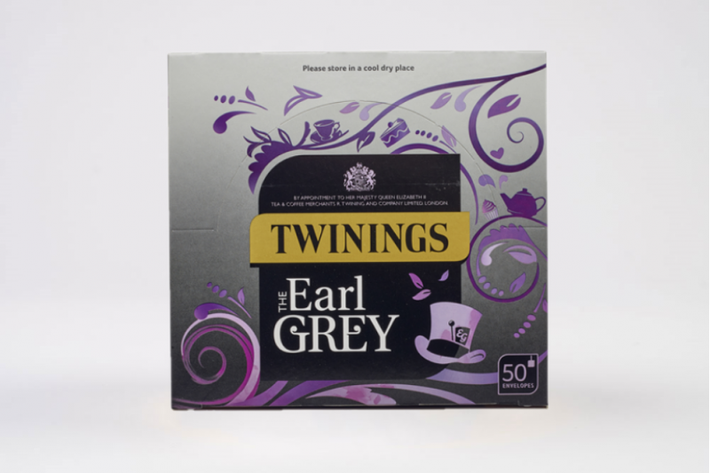 Twinings Earl Grey Enveloped Tea Bags 1x50