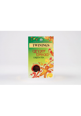 Twinings Gingerbread Green Tea Env Tea Bags 1x20