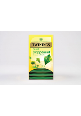 Twinings Peppermint Enveloped Tea Bags 1x20
