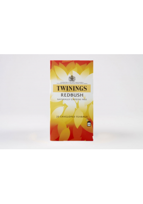 Twinings Redbush Enveloped Tea Bags 1x20