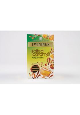 Twinings Salted Caramel Green Tea Env Tea Bags 1x20