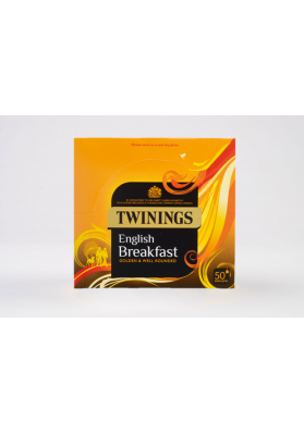Twinings English Breakfast Enveloped Tea Bags 1x50