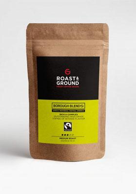 Borough Blend Fairtrade Beans 12x450g