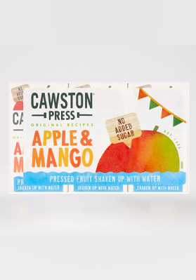 Cawston Press Apple & Mango Cartons 18 x 200ml
