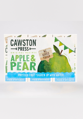 Cawston Press Apple & Pear Cartons 18 x 200ml
