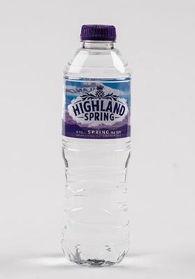 Highland Spring Still Water Plastic 24x500ml