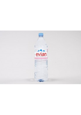 Evian Natural Mineral Water 12x1.5 Litre