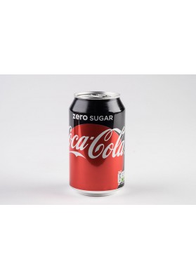 Coca Cola Zero Sugar Cans 24x330ml