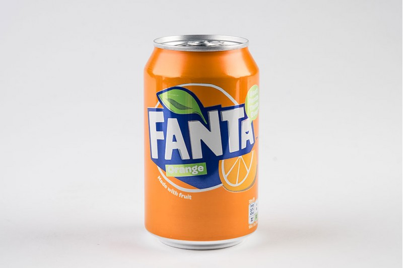 Fanta Orange Cans 24x330ml