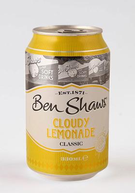 Ben Shaws Cloudy Lemonade Cans 24x330ml
