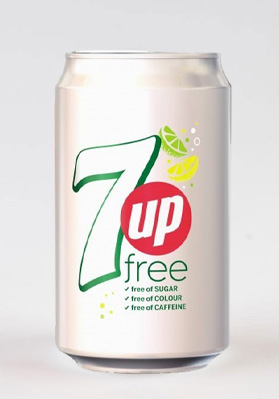 7 Up Free Cans 24x330ml