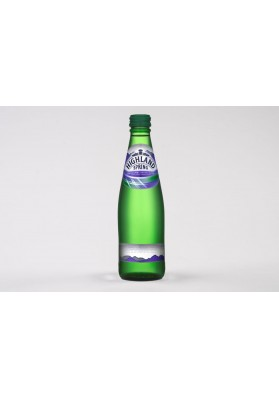 Highland Spring Sparkling Water Glass 24x330ml
