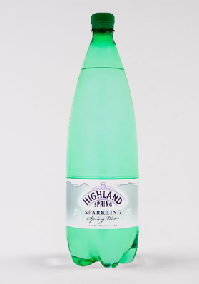 Highland Spring Sparkling Water PET 12x1.5L