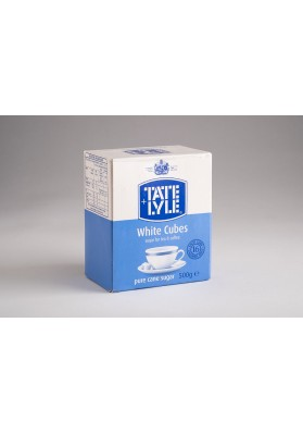 Tate and Lyle White Unwrapped Sugar Cubes 1x500g