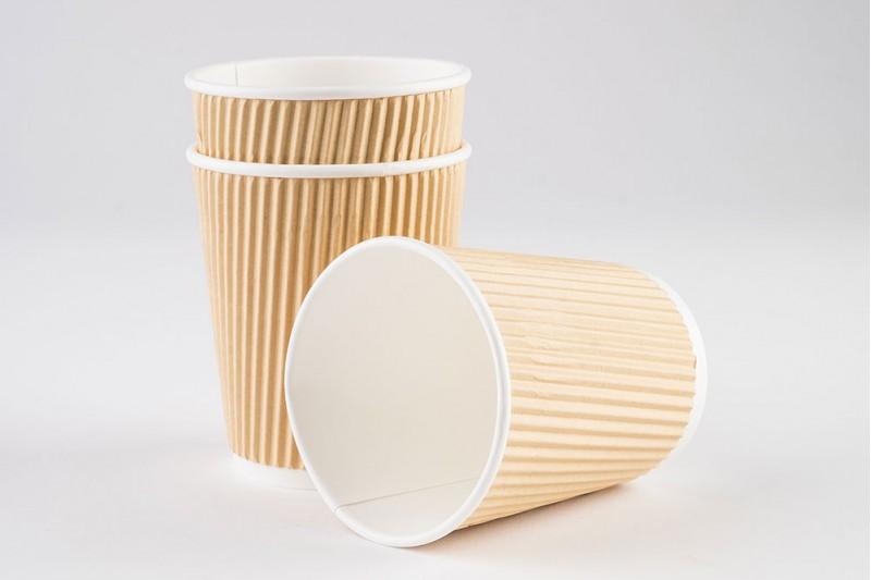 8oz Vegware Double Wall Brown Kraft Cup(VDW8) 20 x 25cups