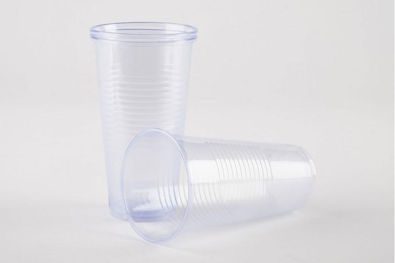 Plastic Pint Glasses 16oz 1 x 1000