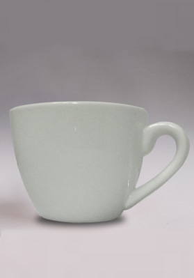 3oz White China Espresso Cups (case of 6)