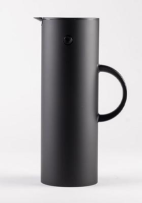 Stelton Vacuum Jug Soft Black 1 Litre