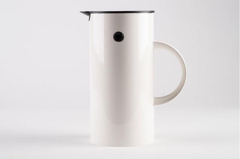 Stelton Vacuum Jug White 0.5 Litre