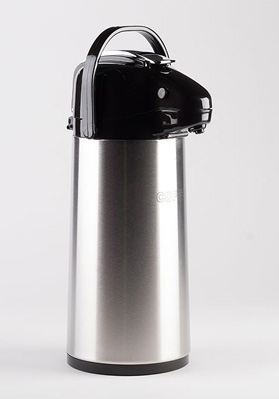 1.9 Litre Vacuum Lever Stainless Flask Plain