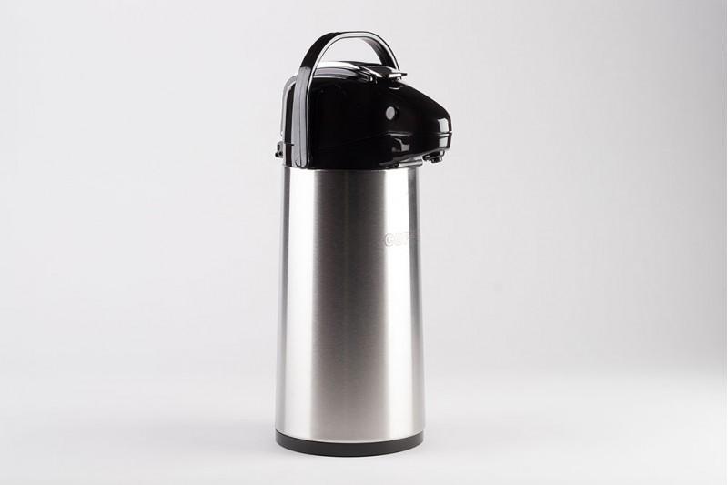 1.9 Litre Vacuum Lever Stainless Flask Plain