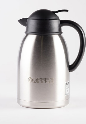 1.9 Litre Vacuum Decanter Double Wall Jug Coffee