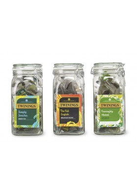Twinings Glass Storage Jars