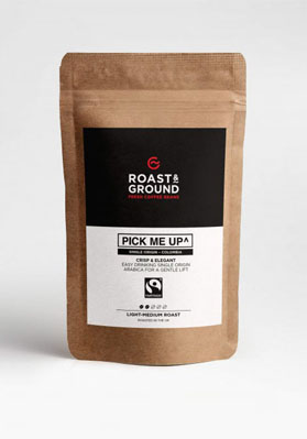 Pick Me Up Fairtrade Beans 12x450g