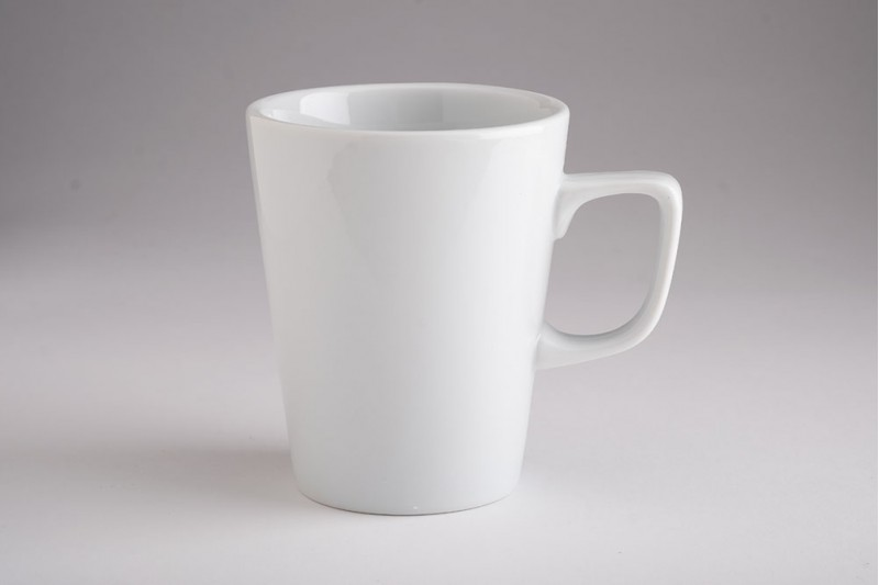 12oz White China Mugs (case of 6)