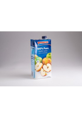 Princes 100% Pure Apple Juice 8x1L