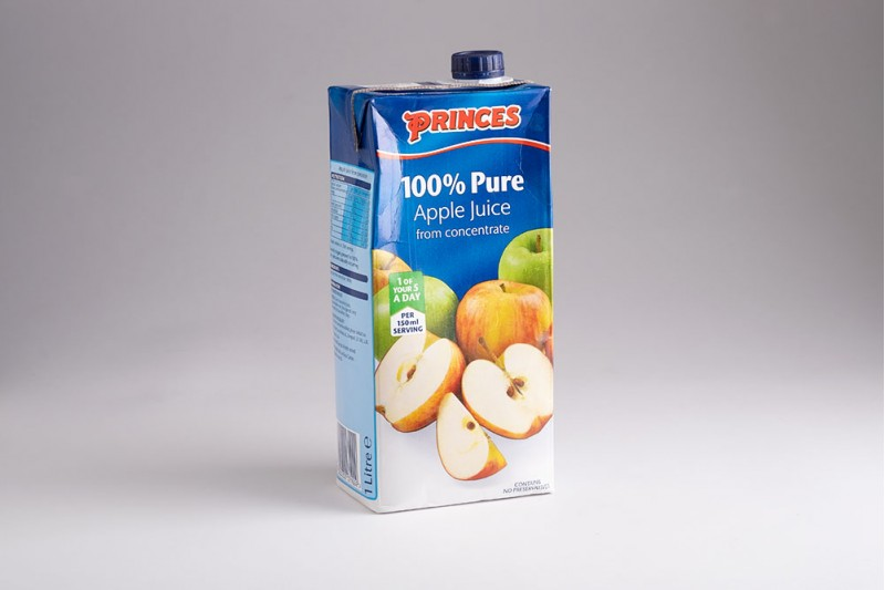 Princes 100% Pure Apple Juice 8x1 Litre