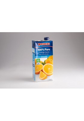 Princes Pure Orange Juice 8x1L