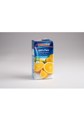 Princes 100% Pure Orange Juice 27x200ml